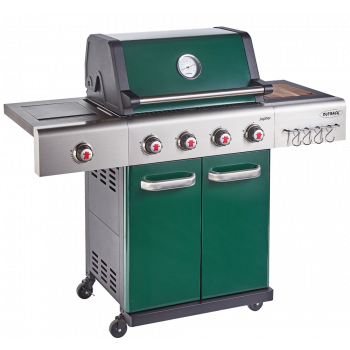 Outback Jupiter 4 Burner Hybrid (2021 Model) BBQ Green (OUT370765)