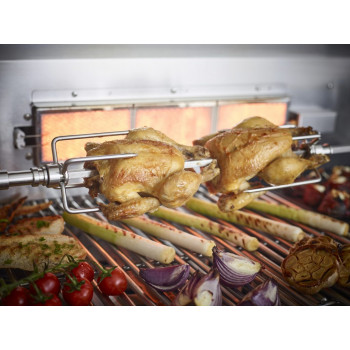 Outback Rotisserie Kit for Signature 6 Burner BBQ (OUT370673)