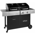 Outback Dual Fuel 2 Burner Combi Charcoal/Gas BBQ (OUT370705)