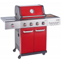 Outback Jupiter 4 Burner Hybrid (2021 Model) BBQ Red (OUT370764)