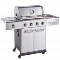 Outback Jupiter 4 Burner Hybrid (2021 Model) BBQ Stainless Steel (OUT370767)
