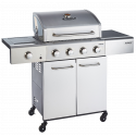Outback Meteor 4 Burner Stainless Steel Gas BBQ (OUT370700)