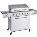 Outback Meteor 6 Burner Stainless Steel Gas BBQ Hooded (OUT370963)