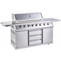 Outback Signature II 6 Hybrid (2020 model) Gas BBQ (OUT370760)