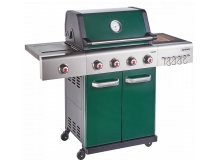 Outback Jupiter 4 Burner Hybrid (2020 Model) BBQ Green (OUT370765)