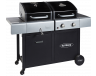 Outback Dual Fuel 2 Burner (2020 model) Combi Charcoal/Gas BBQ (OUT370705)