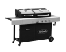 Outback Dual Fuel 4 Burner Combi Charcoal/Gas BBQ (OUT370706)