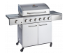 Outback Meteor 6 Burner Stainless Steel Gas BBQ Hooded (OUT370701)